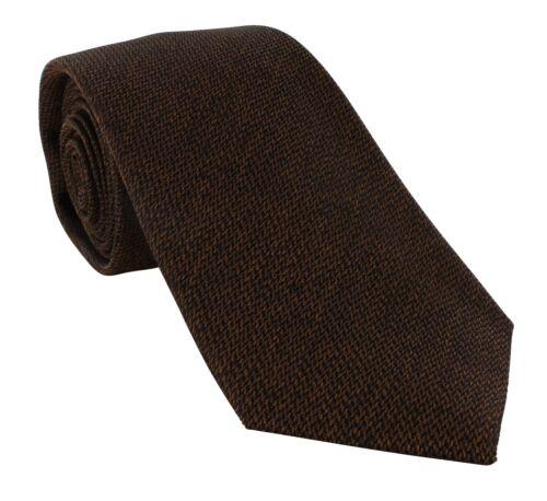 Michelsons of London Grain Semi Plain Silk Tie