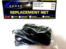 "PROMAR RUBBER LANDING NET REPLACEMENT  20/""-24/""  RN-622  BLACK  SNAG FREE FISHING"