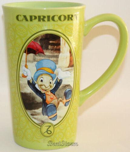 "NEW Disney Store Zodiac Astrology Coffee Tea Latte MUG YOU CHOOSE 16oz 6/"" tall"