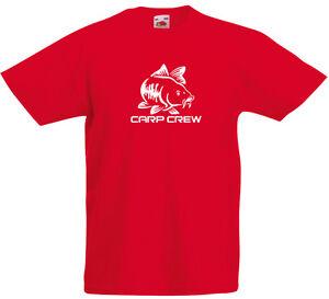 Carp-Crew-inspired-Kids-Printed-T-Shirt-Boys-Girls-Casual-Crew-Neck-Tee-Top