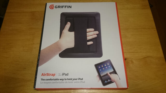 iPad Griffin AirStrap Rugged Tough Protective Cover Case Built-In Strap