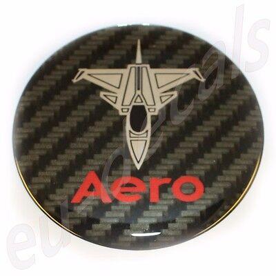 "63.5mm//2.50/"" JET plane SAAB BLACK Chrome Rear Badge Emblem aero 9-5 9-3 3D decal"