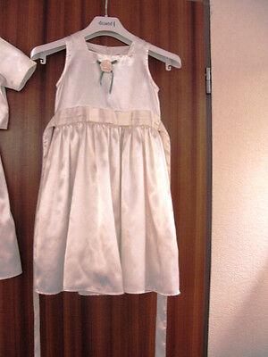116 In Creme Blumenkind Kleidchen Blumenkleid Hochzeit Braut Gr
