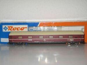 Roco 44132 Voiture Wagon Lits Livree Ten Db 1/100 Rouge 264mm Dsg Sleeper