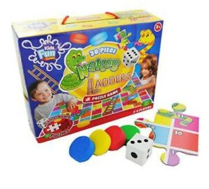 Snakes-And-Ladders-Puzzle-Game-Grafix-30piece-NEW-Ideal-Gift-Idea