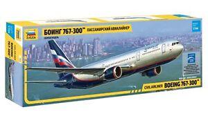 Zvezda 7005 Civil Airliner Boeing 767-300 1/144