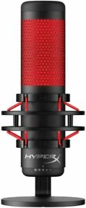 HyperX-QuadCast-Standalone-Microphone-Streamer-HX-MICQC-BK-LED-for-PC-PS4