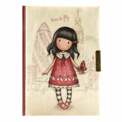 Hardcover-Notizbuch mit Motiv Santoro Gorjuss Ladybird