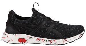 New ASICS HYPERGEL-KENZEN - Mens Shoes Black/Fiery Red/Carbon 809023 c1