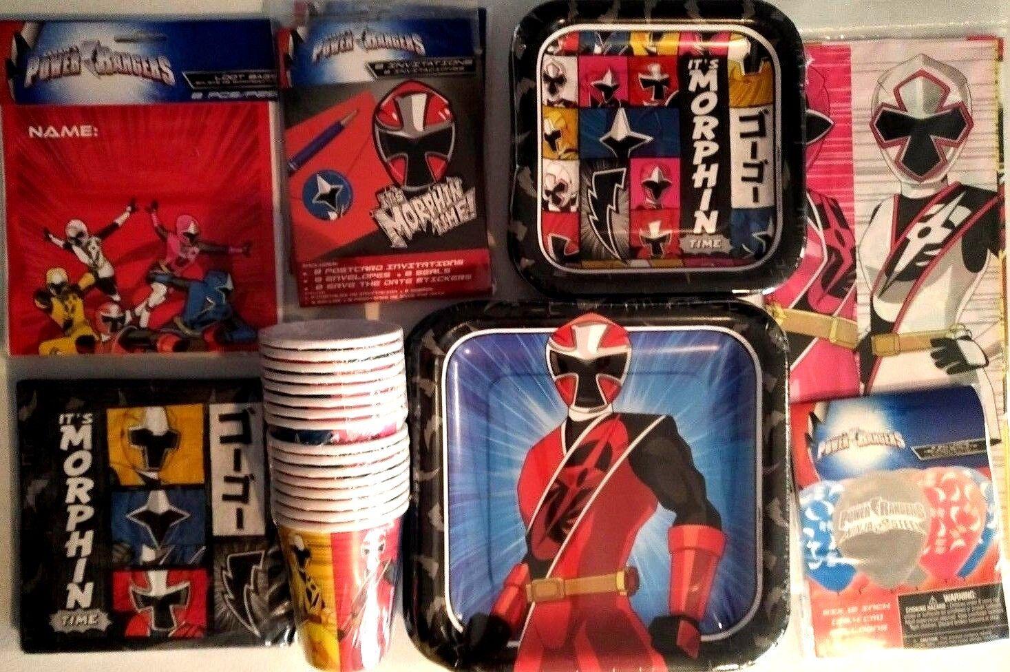 Power Rangers Ninja Stahl Geburtstagsparty Stromversorgung Super Dekoration | Nicht so teuer  | Schöne Farbe