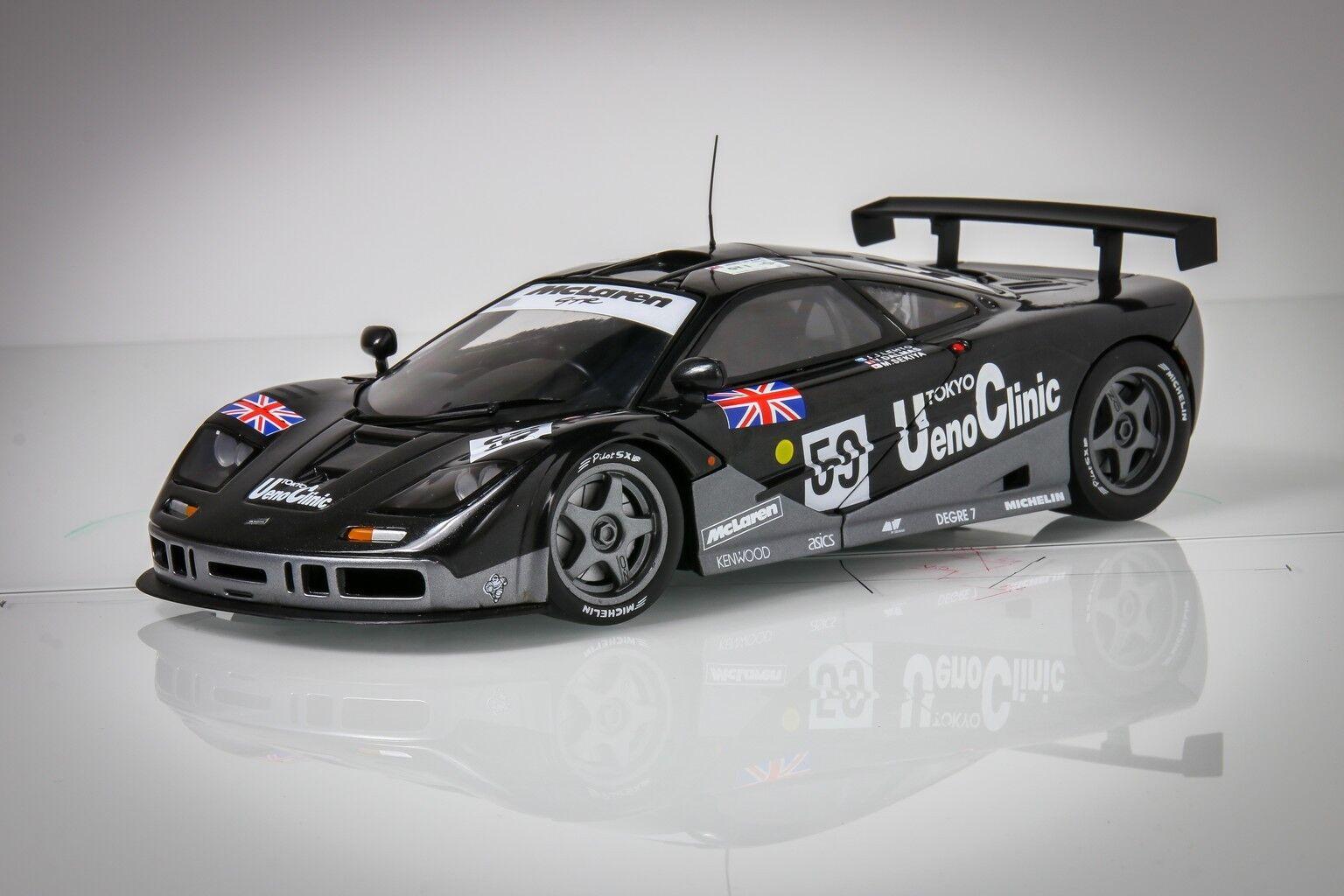 Ut MODELS 18709 McLaren f1 GTR Ueno Clinic WINNER LE MANS 1995   59, 1 18