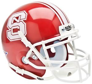 NORTH CAROLINA STATE WOLFPACK NCAA Schutt XP Authentic MINI Football Helmet NCSU