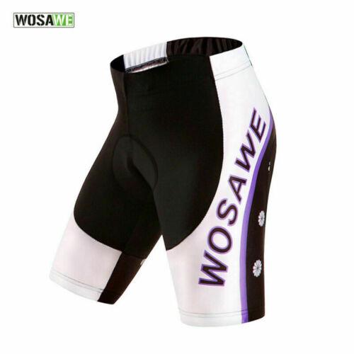 Ladies Women/'s Cycling Shorts MTB Mountain Bike Padded Gel Short Pants Summer