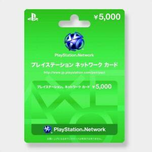 Sony-Japan-Playstation-Network-PSN-5000-Yen-Card-PS4-PS3