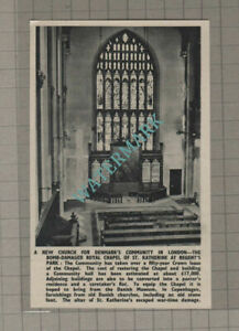 C3280-Royal-Chapel-St-Katherine-Regent-039-s-Park-New-Church-1951-Clip