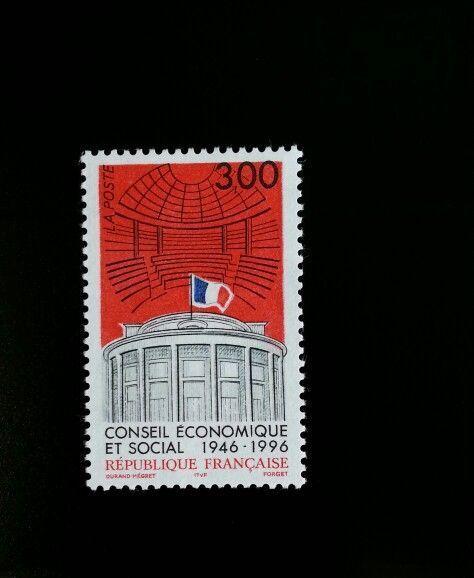 1996 France Economic & Social Council, 50th Anniversary