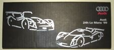 Le Mans 1999 - Audi R8R Spyder & R8C Coupe - Rare Dome Topped Type Sticker Set