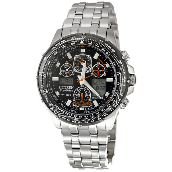 Citizen Skyhawk A-T Titanium Mens Watch JY0010-50E