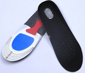 Orthotic Arch Support Shoe Pad Sport Running Gel Insoles Insert Cushion US g
