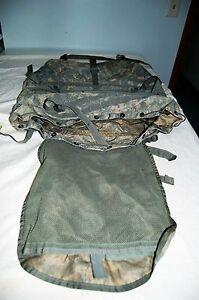 USGI MOLLE II RUCKSACK USED MAIN PACK COMPLETE LARGE FRAME BELT STRAPS PACK