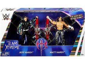 Pack de 2 figurines d'action Jeff Hardy & Matt Elite Elite Epic Moments