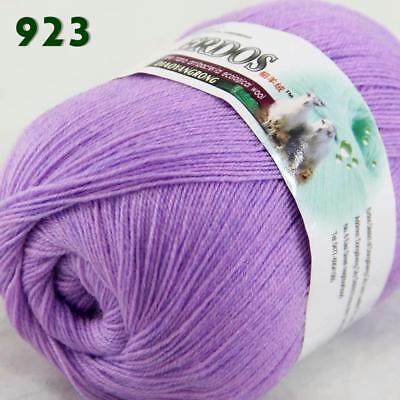 Sale New 1ballx50g LACE Soft Crochet Acrylic Wool Cashmere hand knitting Yarn 06