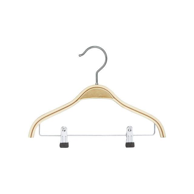 Schichtholzbügel 50er Set Kleiderbügel Holzbügel Bügel Hemdbügel Garderobe 26 cm