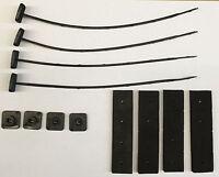 Radiator Cooling Electric Fan Motor Zip Tie Mounting Kit (strap Lock Pad Set)