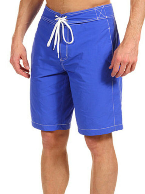 70c22c7cc4854 New Mens Lacoste Croc Logo Swim Trunks Board Shorts w/ Contrast Stitching