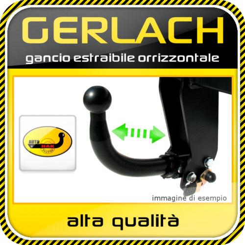 Per Renault Megane II due volumi 2002-2008 gancio traino estraibile orrizzontale
