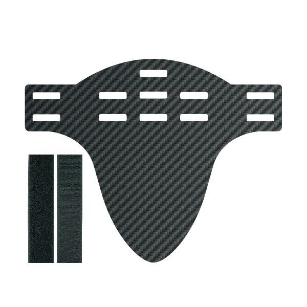 Jollify Real Carbon Mud Guard Fender (Shorts) for MTB Mountain Bike Fr XC