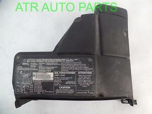 98 03 mercedes ml320 fuse box cover lid only oem 1635400082 ebay