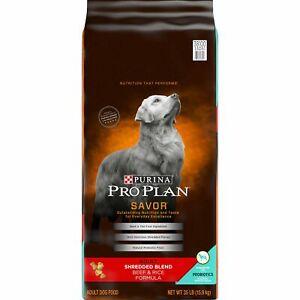 Purina-Pro-Plan-SAVOR-Shredded-Blend-BEEF-amp-RICE-Adult-Dry-Dog-Food-35-lb-Bag