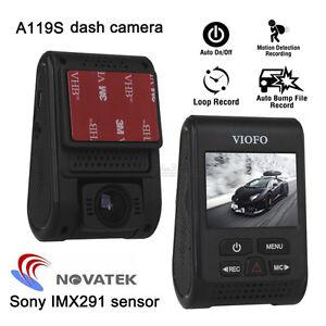"""Viofo A119S 2.0"""" Capacitor Novatek 96660 HD 1080p 60fps Car Dashcam Camera DVR"""