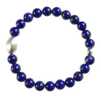 Sporting Lapis Lazuli Edelstein-armband Stretch Lapis Bracelet D268 Gemstone