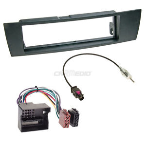 BMW-3er-E90-05-11-1-DIN-Radio-Set-Adapter-Cable-Radio-Faceplate