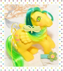 ❤️My Little Pony MLP G1 VTG Masquerade Gem Twinkle Eye Yellow Pegasus 1985❤️