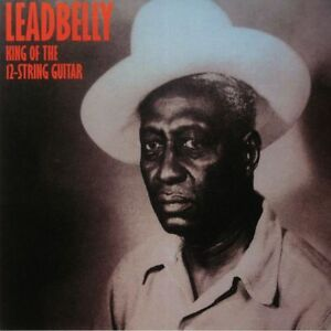 LEADBELLY KING OF THE 12-STRING GUITAR NYC 1935 BLUES & FOLK LP ITALY IMPRT 2018