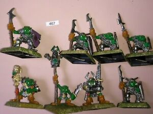 Details about 8 Ruglud's Armoured Orcs Regiment of Renown Inc Command -  Warhammer Fantasy 1988
