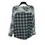 thumbnail 8 - New Anthropologie Cyrena S Tunic Top Blouse Shirt Floral Plaid Blue White Hi Low