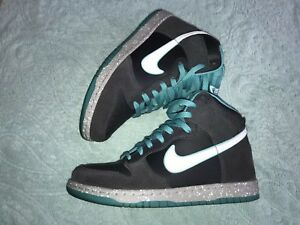 Image is loading MENS-NIKE-DUNK-HIGH-TURQUOISE-SNEAKERS-SIZE-8 8a8e76d60