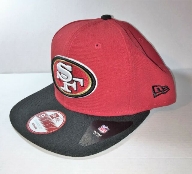 San Francisco 49ers New Era 9FIFTY NFL 2017 Sideline On Field Snapback Cap 71699b9db