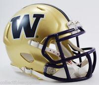 Washington Huskies Ncaa Revolution Speed Mini Football Helmet