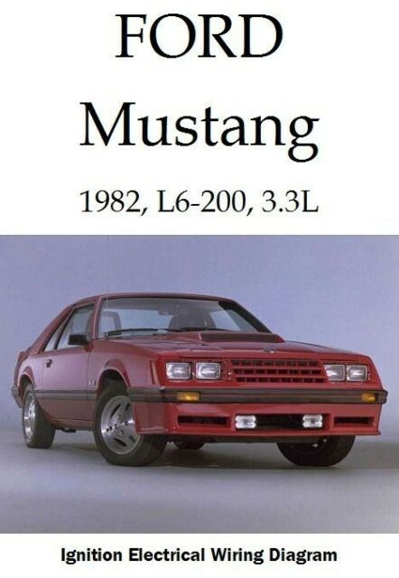 Ford Mustang  1982  L6
