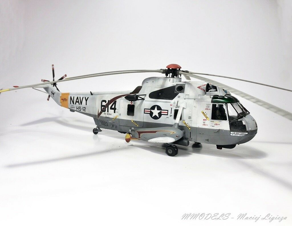 SH-3H SeaKing - scale 1 48 built and painted