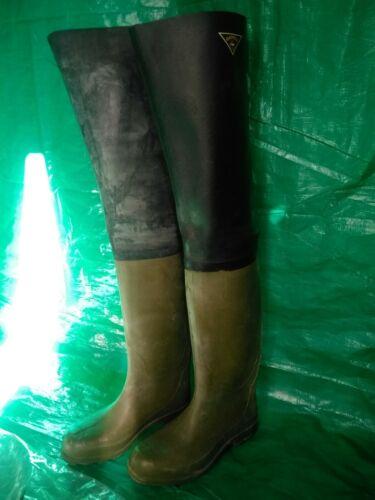 Rubber Boot,Wader,Gummi, Botas De Pesca, Caucho Natural, Gaviota 45_46 , nuevas.