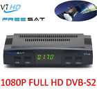 Freesat V7 Full 1080P HD DVB S2 Digital Free Satellite TV Receiver Box USB Wifi