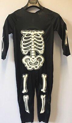 100% Vero Costume Halloween Taglia 4 10-12 Anni