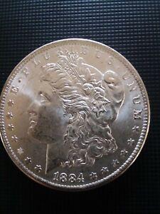 1884 O Morgan Silver Dollar Uncirculated #x4