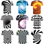 3D-Optical-illusion-T-Shirt-Hypnosis-Swirl-Men-Women-Funny-Short-Sleeve-Tee-Tops thumbnail 1